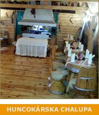 Huncokárska chalupa - Ubytovanie - Hotel - Motel na vrchu Pezinská Baba